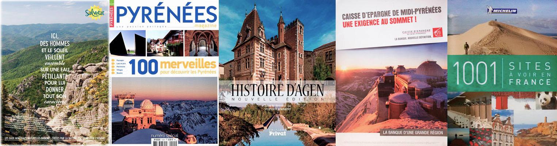 Publications du photographe Jean-Marc Barrère basé à Auch dans le Gers